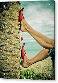 Upside Down You're Turning Me Acrylic Print