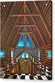 Upstairs Dream Acrylic Print