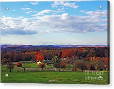 Upstate Acrylic Print by Alison Tomich