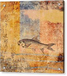 Upstream Acrylic Print by Carol Leigh