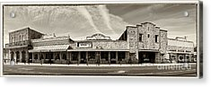 Uptown Blanco Panorama In The Texas Hill Country Acrylic Print