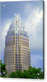 Uptown Charlotte 1 Acrylic Print by Randall Weidner