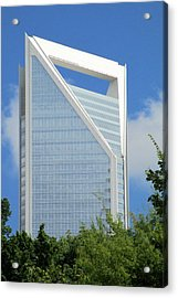 Uptown Charlotte 2 Acrylic Print by Randall Weidner