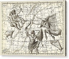 Uranographia Constellations, 1801 Acrylic Print by Science Photo Library