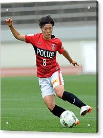 Urawa Red Diamonds Ladies V Ac Nagano Parceiro Ladies - Nadeshiko League Acrylic Print by Hiroki Watanabe