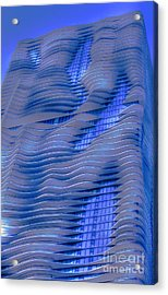 Urban Abstract 2 Acrylic Print by Jim Wright