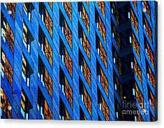 Urban Abstract 4 Acrylic Print by Jim Wright