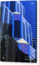 Urban Abstract 5 Acrylic Print by Jim Wright