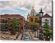 Urban Architecture Of Cartagena Acrylic Print