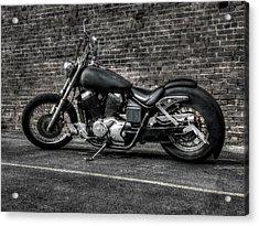 Urban Bike 001 Acrylic Print by Lance Vaughn
