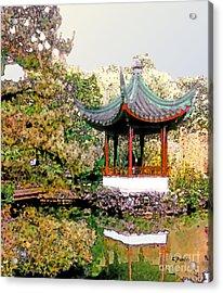 Urban Calm Acrylic Print by Linda  Parker