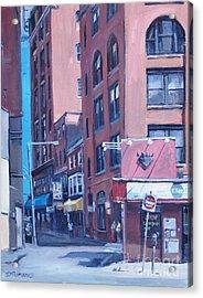 Urban Canyon Chinatown Acrylic Print