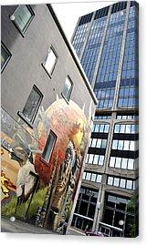 Urban Cheaf Acrylic Print by Frederico Borges