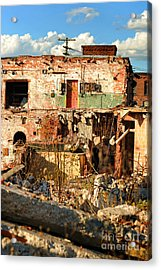 Urban Decay Acrylic Print by HD Connelly