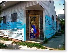 Urban Decay New Orleans Style Acrylic Print