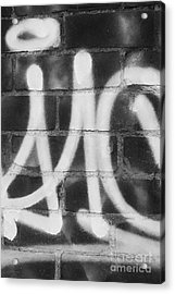 Urban Graffiti Abstract Concord 2015 Acrylic Print by Edward Fielding