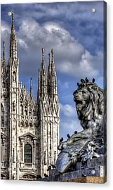 Urban Jungle Milan Acrylic Print by Carol Japp