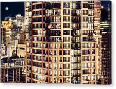 Acrylic Print featuring the photograph Urban Living Dclxxiv By Amyn Nasser by Amyn Nasser