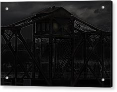 Urban Metal Acrylic Print by Thomas Young