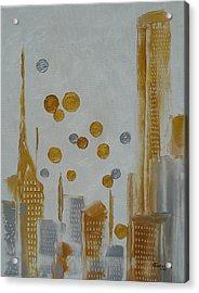 Urban Polish Acrylic Print by Judith Rhue