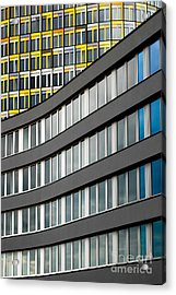 Urban Rectangles Acrylic Print by Hannes Cmarits