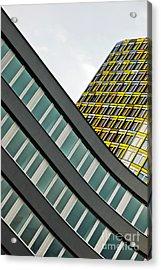 urban rectangles III Acrylic Print by Hannes Cmarits