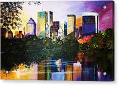 Urban Reflections Acrylic Print