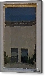 Urban Reflections Acrylic Print by Christopher Bage