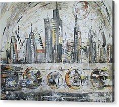 Urban Rumble Acrylic Print