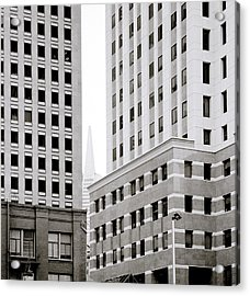 Urban San Francisco Acrylic Print by Shaun Higson