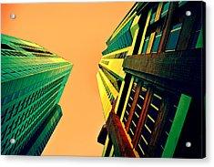 Urban Sky Acrylic Print by Andrei SKY