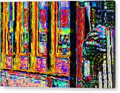 Urban Sprawl - 7d14097 Acrylic Print by Wingsdomain Art and Photography