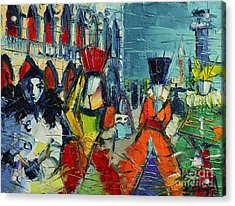 Urban Story - The Carnival Acrylic Print