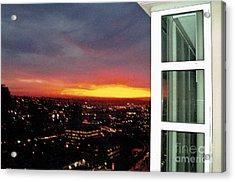 Urban Sunset Acrylic Print