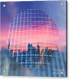 Urban Twilight Acrylic Print by Beverly Claire Kaiya