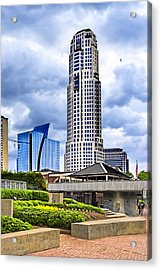 Urbania - Atlanta Buckhead Skyline Acrylic Print