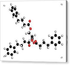 Urea Cycle Disorder Drug Molecule Acrylic Print by Molekuul