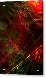 Urgent Orbital Acrylic Print by Richard Thomas