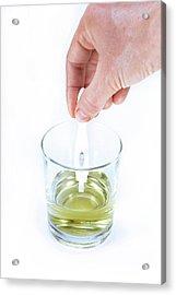 Urine Menopause Test Acrylic Print