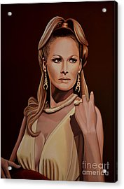Ursula Andress Acrylic Print by Paul Meijering