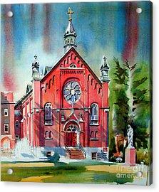 Ursuline Academy Sanctuary Acrylic Print by Kip DeVore