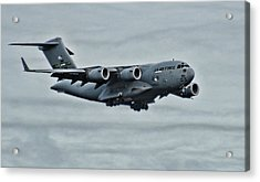 Us Air Force C17 Acrylic Print by Ron Roberts