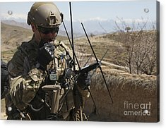 U.s. Air Force Joint Terminal Attack Acrylic Print by Stocktrek Images