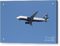 Us Airways Jet 7d21945 Acrylic Print by Wingsdomain Art and Photography