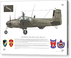 U.s. Army Ru-8d 138th Acrylic Print
