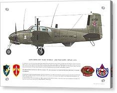 U.s. Army Ru-8d 146th Acrylic Print