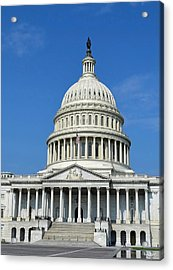 Us Capitol Building Acrylic Print