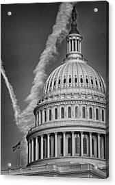 U.s. Capitol Dome Acrylic Print by Boyd Alexander