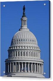 Us Capitol Dome Acrylic Print