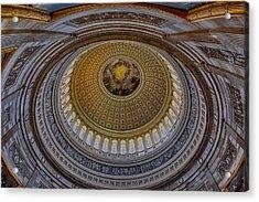 Us Capitol Rotunda Acrylic Print